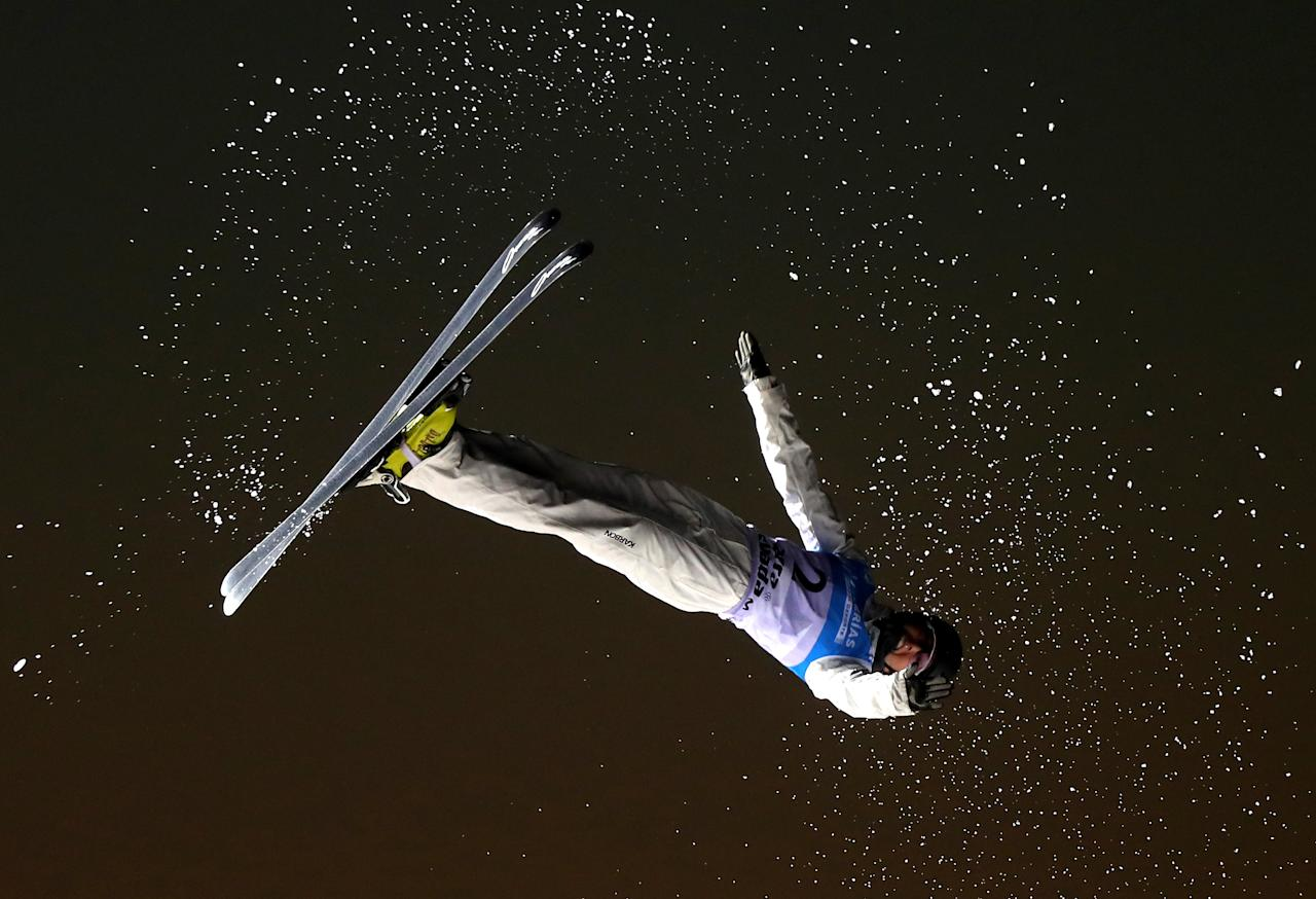 <p>SIERRA NEVADA, SPAIN – MARCH 10: Danielle Scott of Australia competes during the Women's Aerials Final on day three of the FIS Freestyle Ski and Snowboard World Championships 2017. (Getty Images) </p>