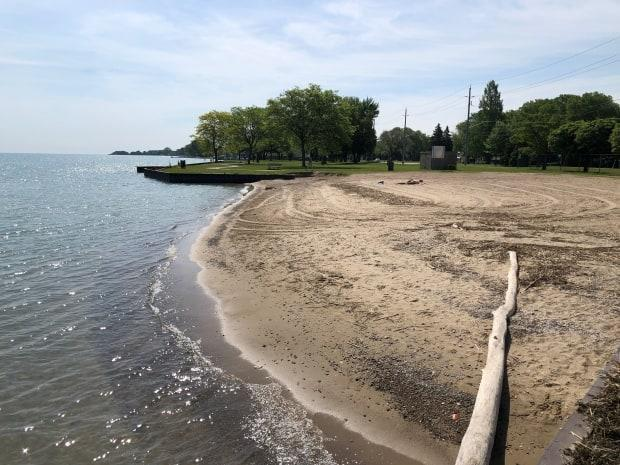Plans to move Sand Point Beach further east to this location are in the works, but some want the process expedited.