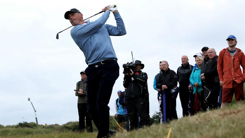 British Open: Kuchar posts career-best in major to share lead