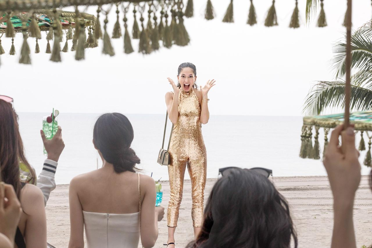"The Singapore setting of this romantic comedy is so beautiful and extravagant, you'll feel like you're there. Now streaming on <a href=""https://www.hulu.com/live-tv"">Hulu</a>."