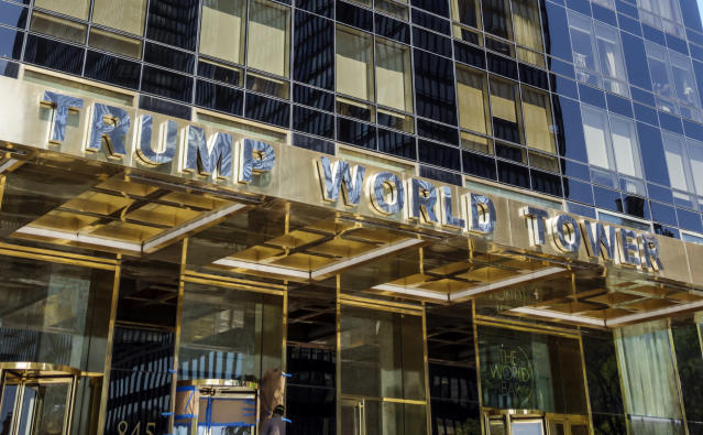 Trump World Tower in New York City. (Photo: Jeffrey Greenberg/UIG via Getty Images)
