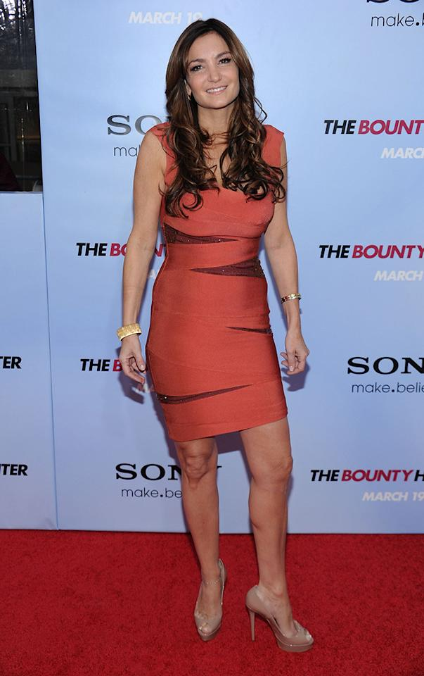 """Beth Shak at the New York City premiere of <a href=""""http://movies.yahoo.com/movie/1810129411/info"""">The Bounty Hunter</a> - 03/16/2010"""