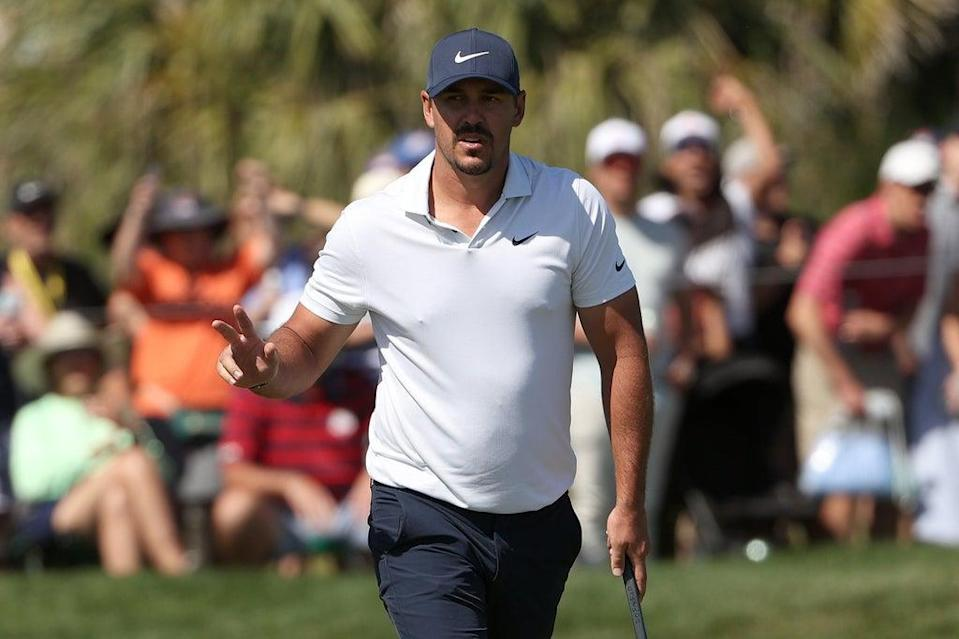 Two-time winner Koepka is one shot off the lead (Getty Images)