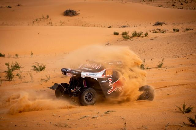 "#403 Red Bull Off-Road Team USA OT3: Cyril Despre, Mike Horn <span class=""copyright"">Red Bull Content Pool</span>"