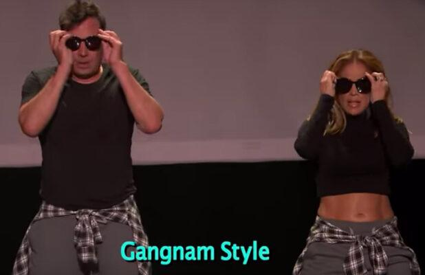 Jennifer Lopez and Jimmy Fallon Teach a Master Class in 'The History of Music Video Dancing' (Video)