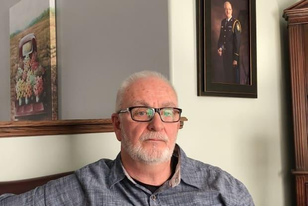 Cape Breton Regional Police Chief Peter McIsaac says he had trouble dealing with his PTSD diagnosis, but says he had to speak out now in hopes others will be able to seek help. (Tom Ayers/CBC - image credit)