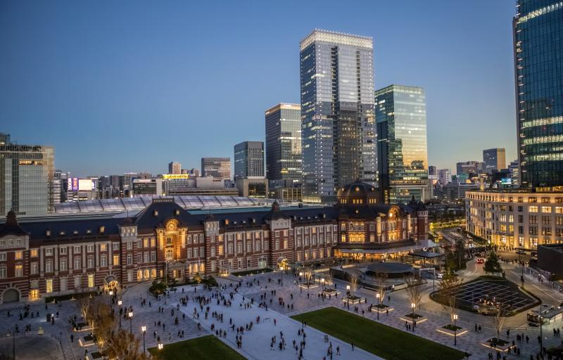 Japan , Tokyo City, Marunouchi District, Tokyo Station West Side (Photo by: Prisma by Dukas/Universal Images Group via Getty Images)