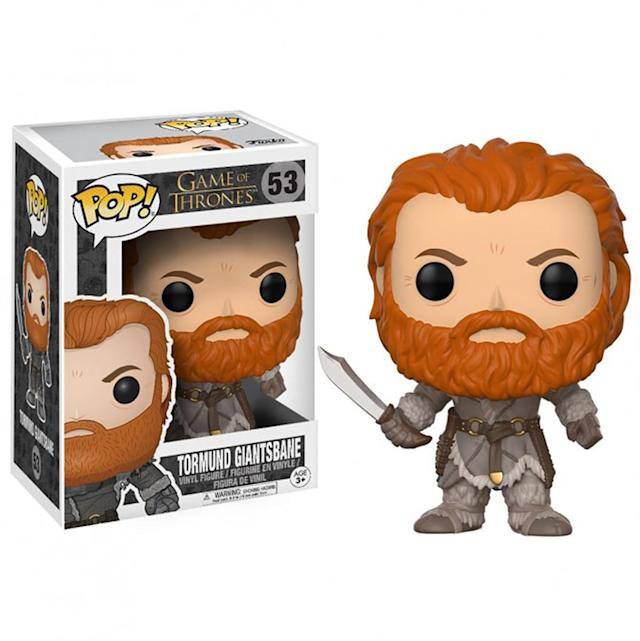<p>There is no Pop! two-pack for Tormund and Brienne, but Funko has made one for their Dorbz line. </p>