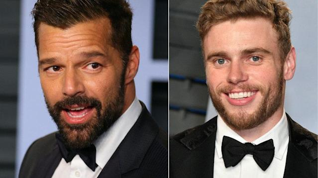 Ricky Martin Is 'Flattered' By Gus Kenworthy's Social Media Flirting