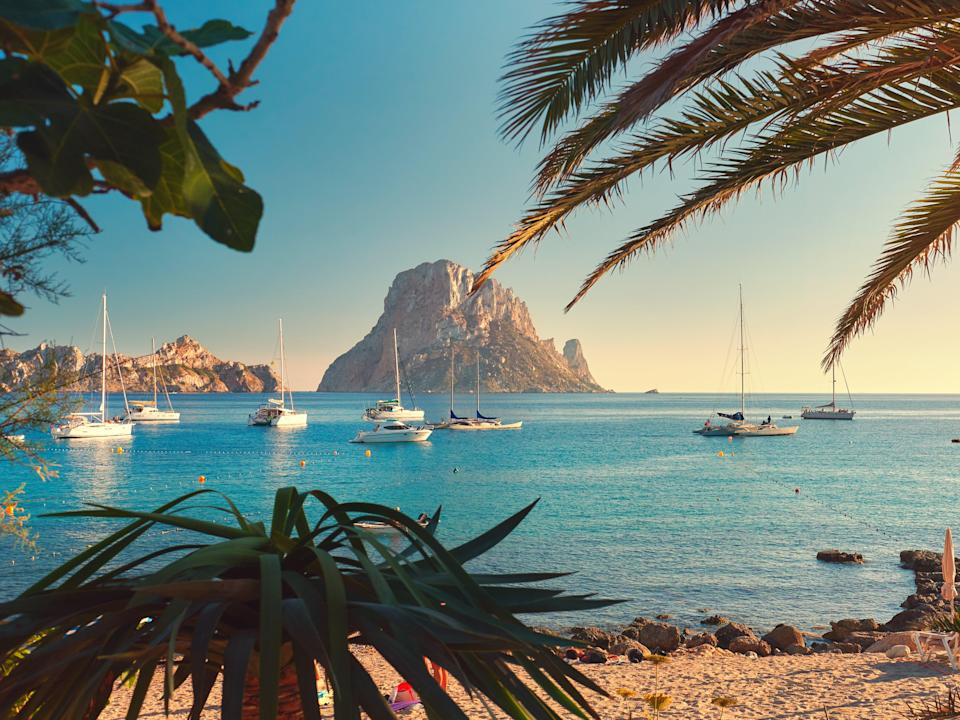 Ibiza is one of the top holiday hot spots added to the green list  (Getty Images/iStockphoto)