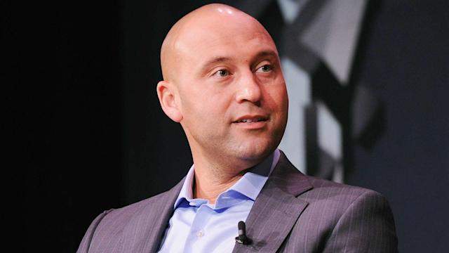 Derek Jeter has reportedly hired a Golden State Warriors executive to lead the Marlins' business operations. (AP)
