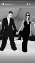 <p>The model shared another black-and-white photo from the Met Gala in which she holds hands with her husband. '3 years, [sic]' she captioned the post, alluding to the duration of their marriage. </p>