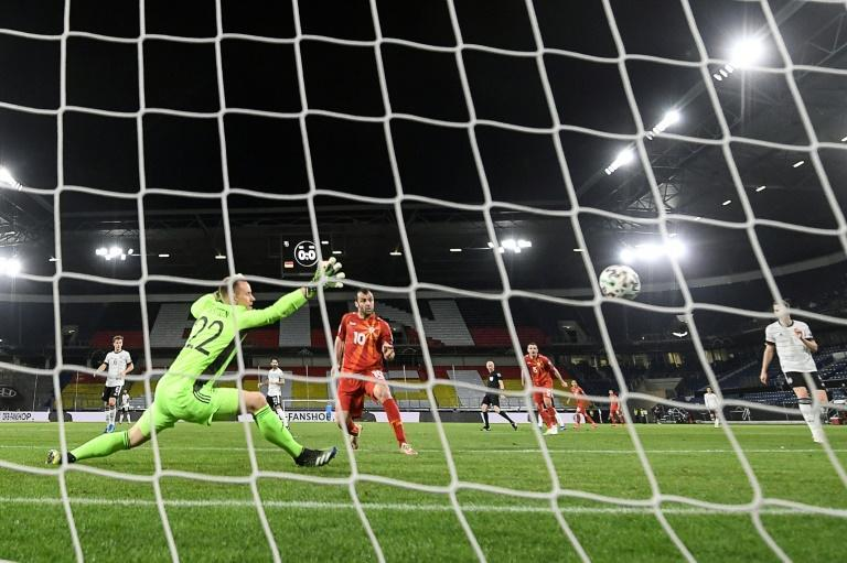 Goran Pandev scored the opening goal when North Macedonia stunned Germany in a World Cup qualifier in March