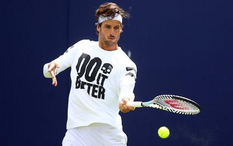 <span>Feliciano Lopez will partner Murray at Queen's</span> <span>Credit: Getty Images </span>