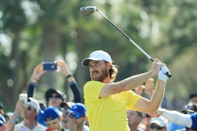 Tommy Fleetwood wants the Ryder Cup to be a 'shining light' after the coronavirus (AFP Photo/SAM GREENWOOD)