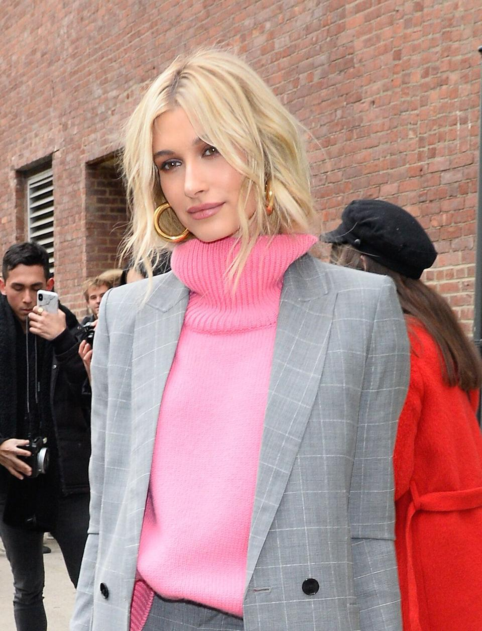 Hailey Baldwin's secret to tangle-free hair is an $18 leave-in conditioner.