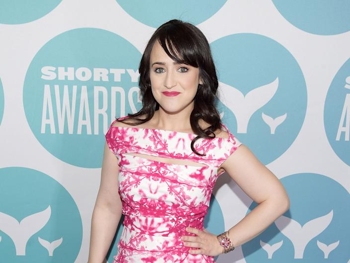Mara Wilson attends the 9th Annual Shorty Awards in 2017.