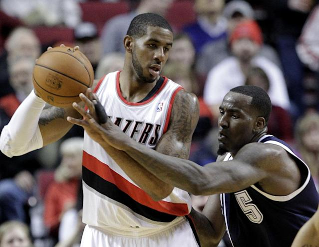 LaMarcus Aldridge (left groin strain) will miss at least a week, making this a very dangerous time for the Blazers
