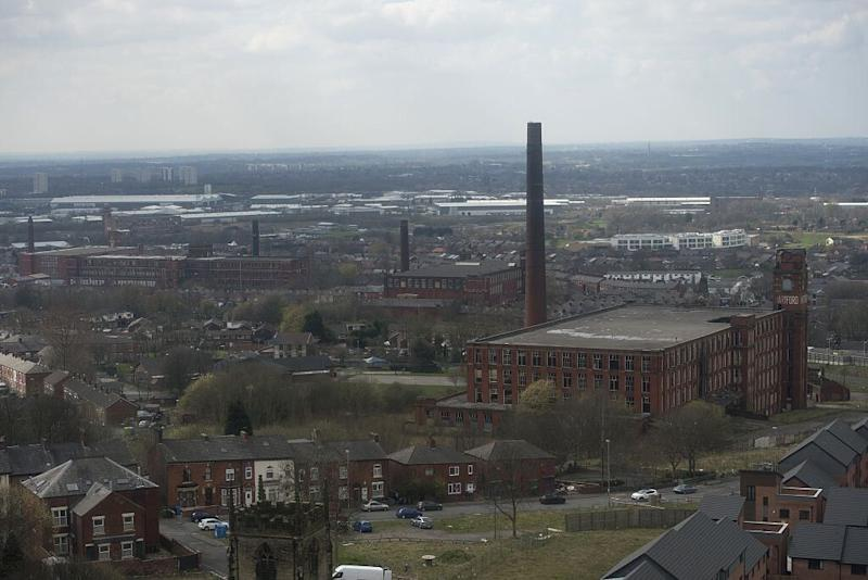 The outskirts of Oldham in north west England (Picture: AFP/Getty)
