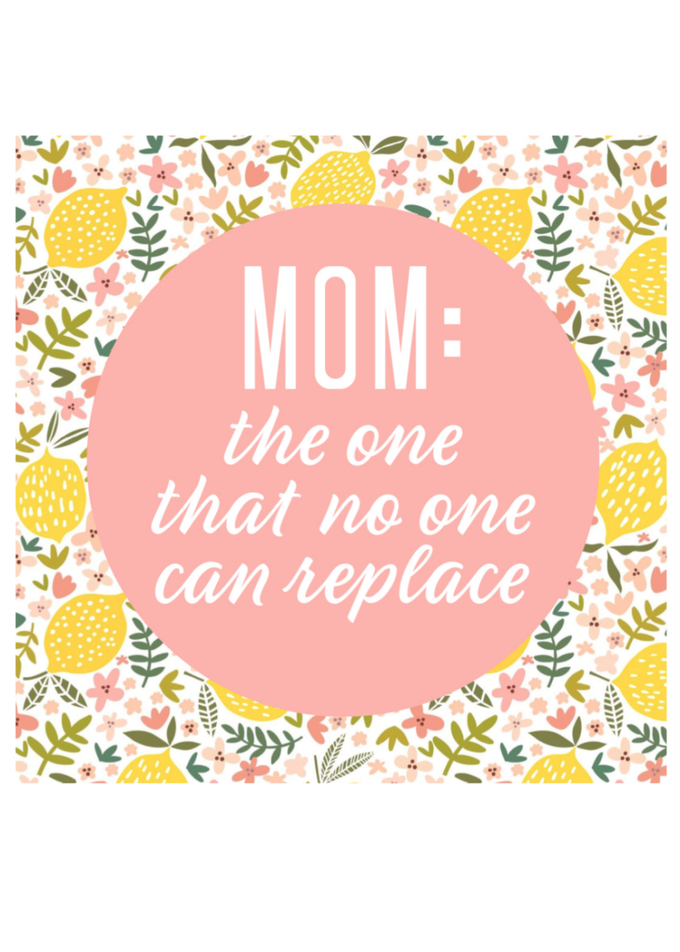 "<p>Not only is this saying totally accurate, but it's so cute with the lemon pattern. She may just want to display it all year long.<em><strong><br></strong></em></p><p><em><strong>Get the printable at <a href=""https://www.sixcleversisters.com/free-printable-square-mothers-day-cards/"" rel=""nofollow noopener"" target=""_blank"" data-ylk=""slk:Six Clever Sisters"" class=""link rapid-noclick-resp"">Six Clever Sisters</a>.</strong></em></p>"