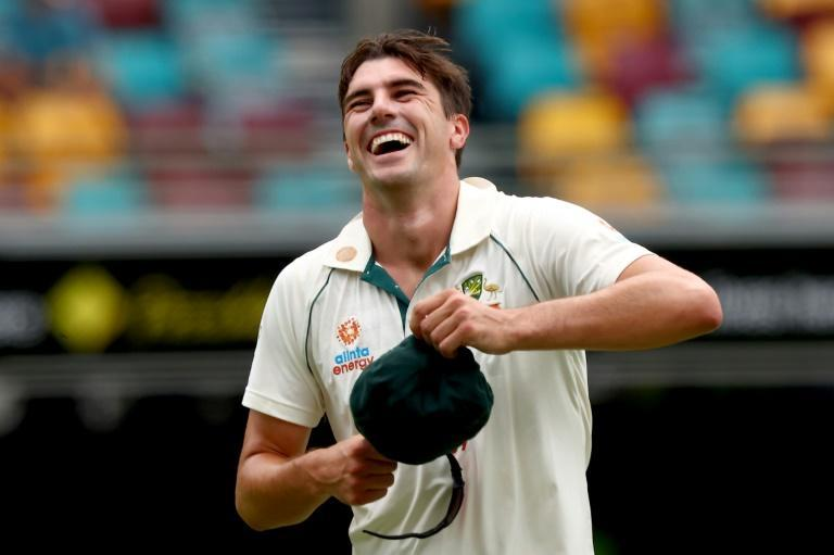 Pat Cummins made the early breakthrough for Australia, getting the wicket of Indian opener Shubman Gill