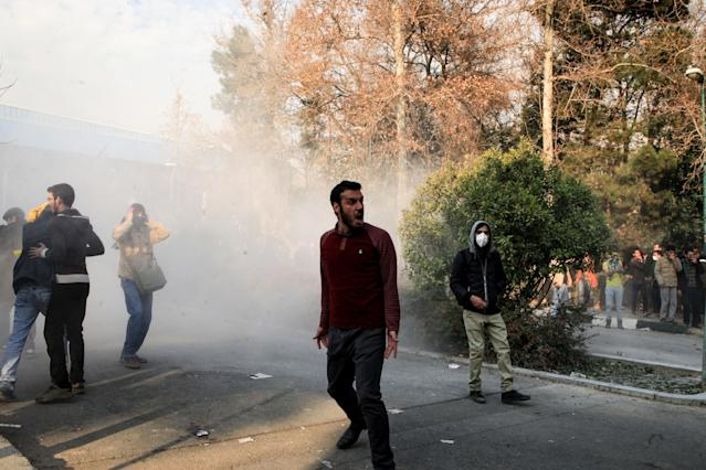 Iran Cuts Off Social Media and Some Internet Access as Protests Continue