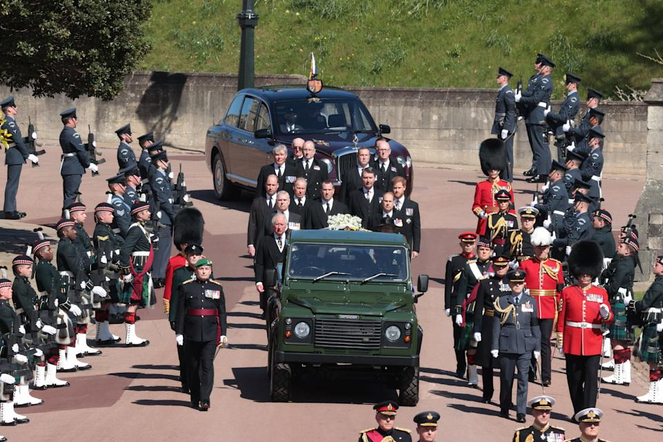 Prince Philip funeral: Service under way at St George's Chapel as Queen  sits alone