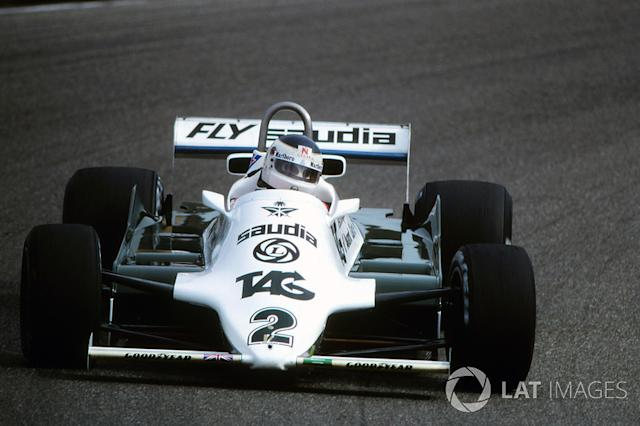 "1981: Williams-Cosworth FW07C <span class=""copyright"">Sutton Images</span>"