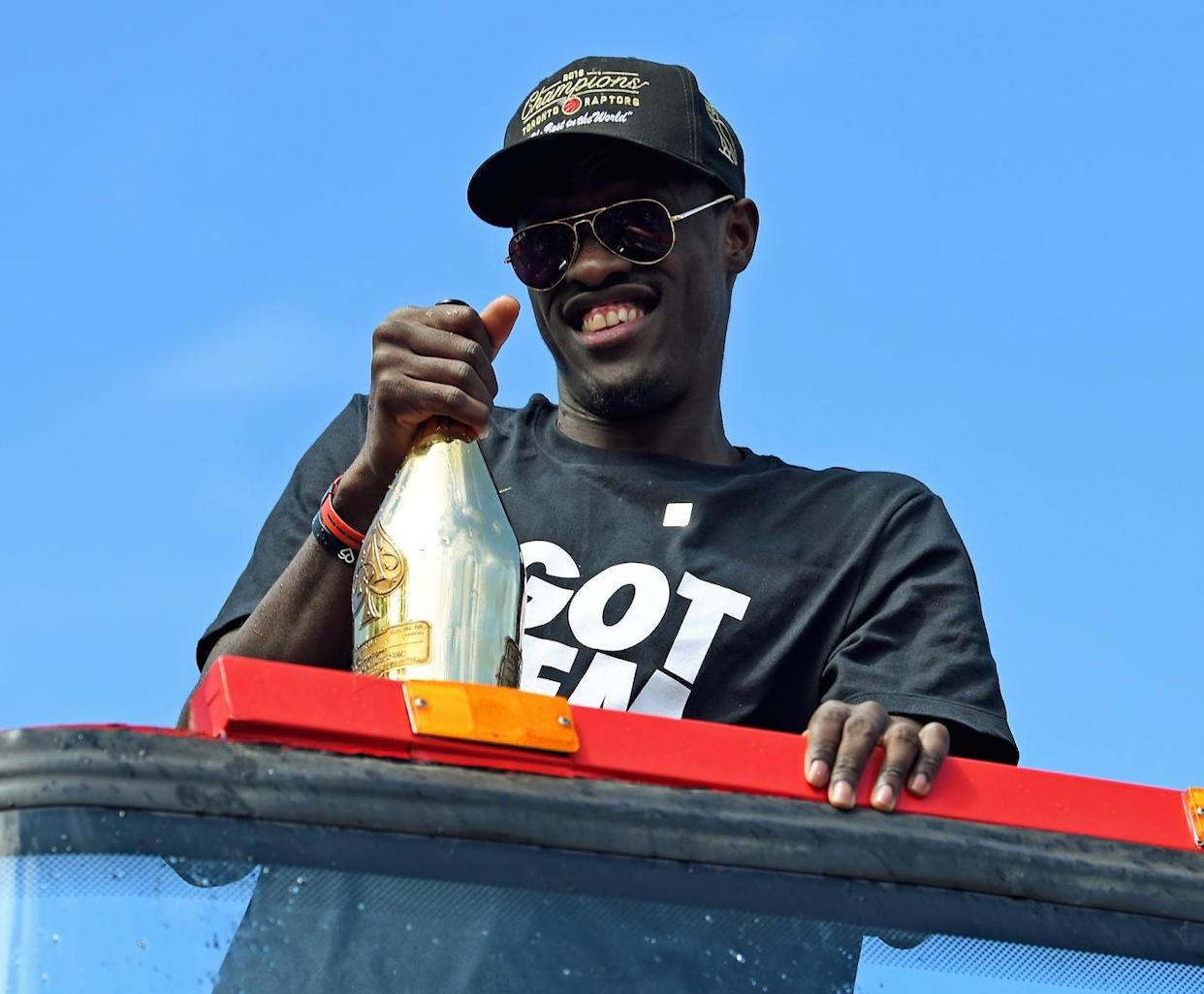 Toronto Raptors forward Pascal Siakam could be in line for an extension sooner than later. (Gerry Angus-USA TODAY Sports)