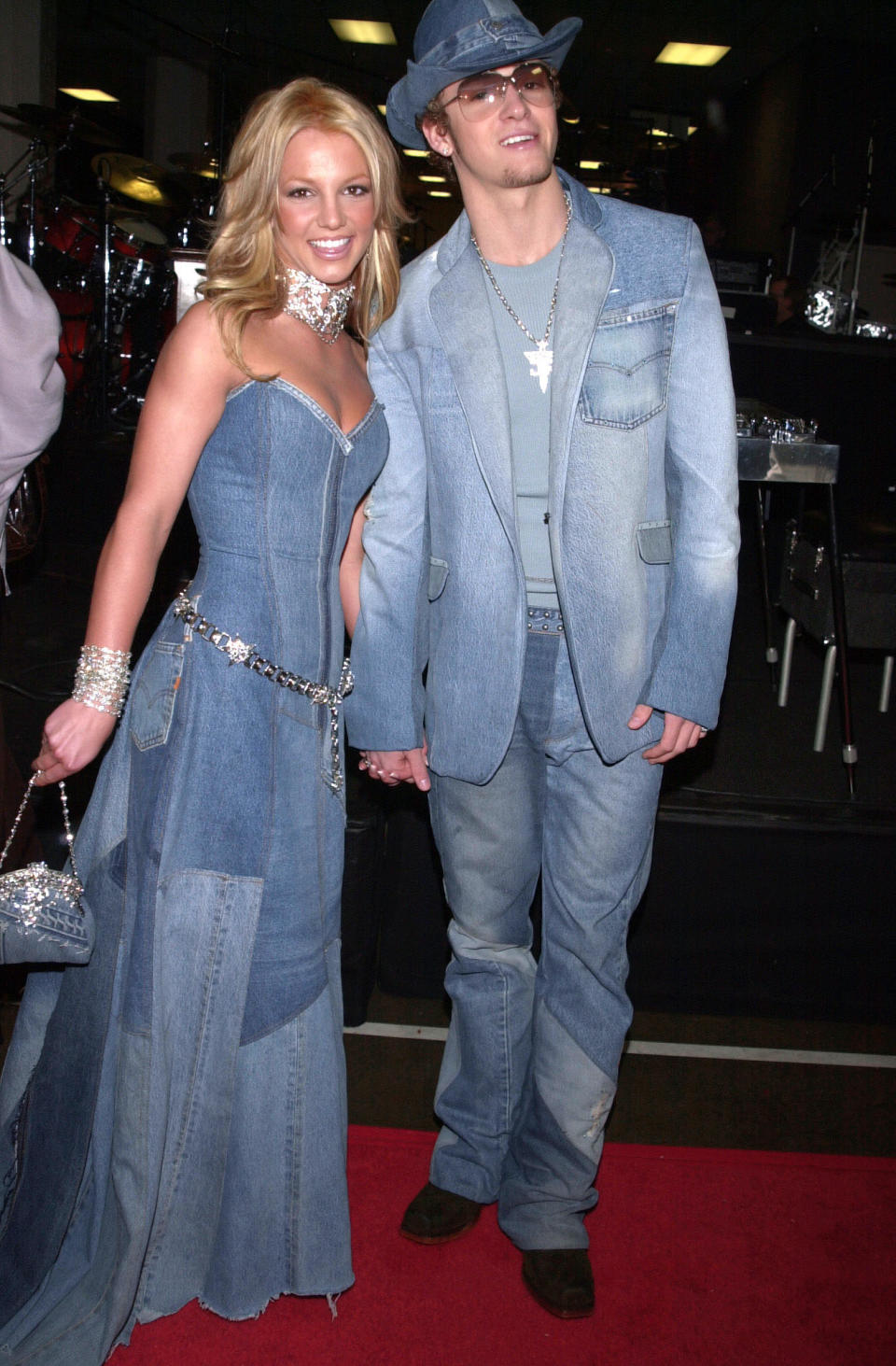 """<p>Spears and Timberlake were the undisputed prom Queen and King of the music world in the late 90s. The pair met as kids while working on """"The Mickey Mouse Club"""" and dated publicly from 1999 to 2002 as their careers soared to superstardom. <em>(Image via Getty Images)</em></p>"""