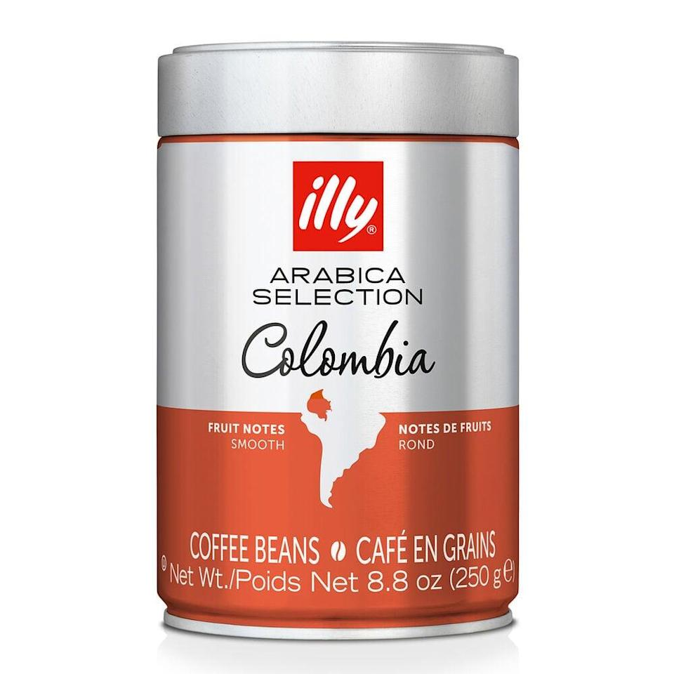<p><span>Illy Arabica Selection Colombia Whole-Bean Coffee</span> ($16, originally $20)</p>