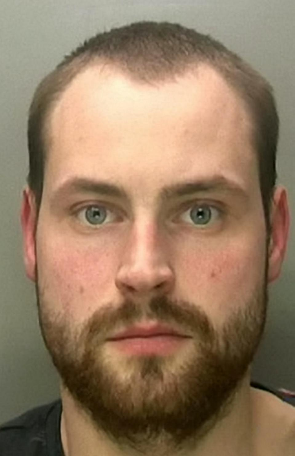 Bartosz Konopacki, 26, attacked the 31-year-old sex worker after driving around searching for a woman to attack after he was dumped. (SWNS)