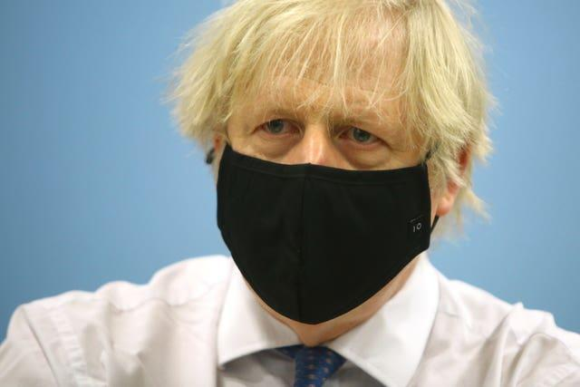 Prime Minister Boris Johnson is preparing a road map for exiting lockdown (Geoff Caddick/PA)