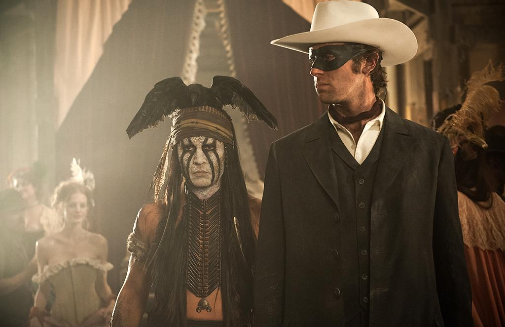"""Johnny Depp and Armie Hammer in Walt Disney Pictures' """"The Lone Ranger"""" - 2013"""
