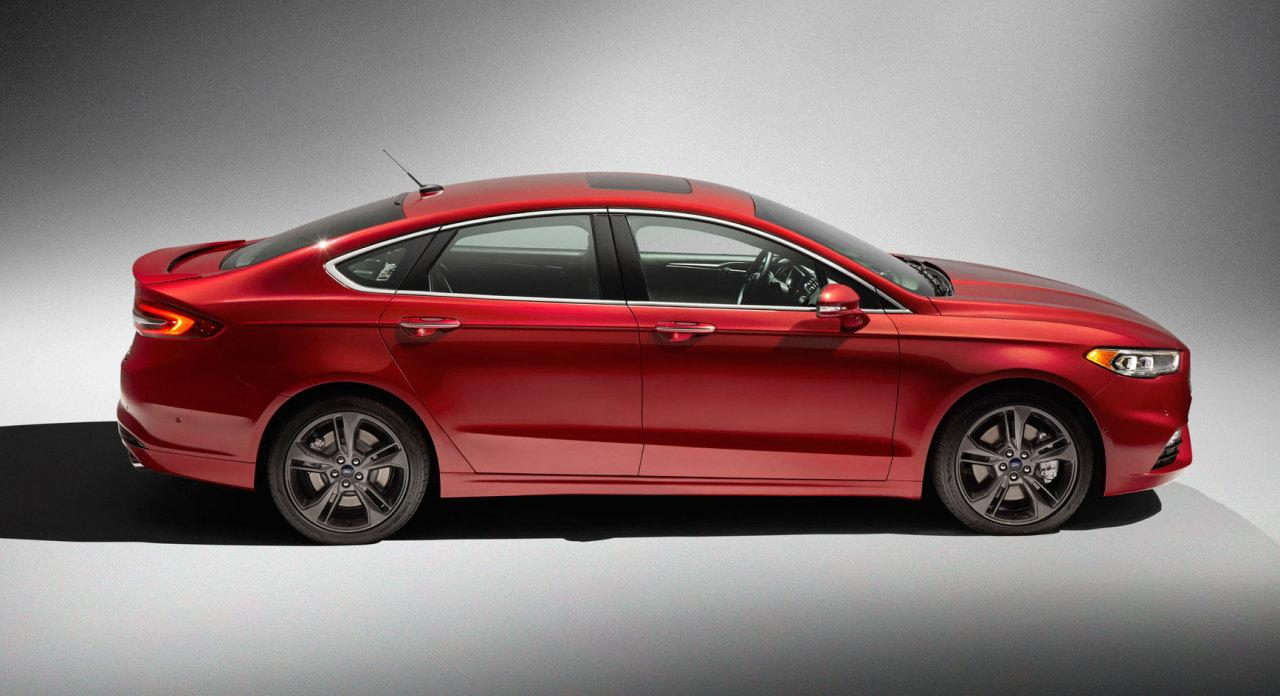 2017 ford fusion sport first look. Black Bedroom Furniture Sets. Home Design Ideas