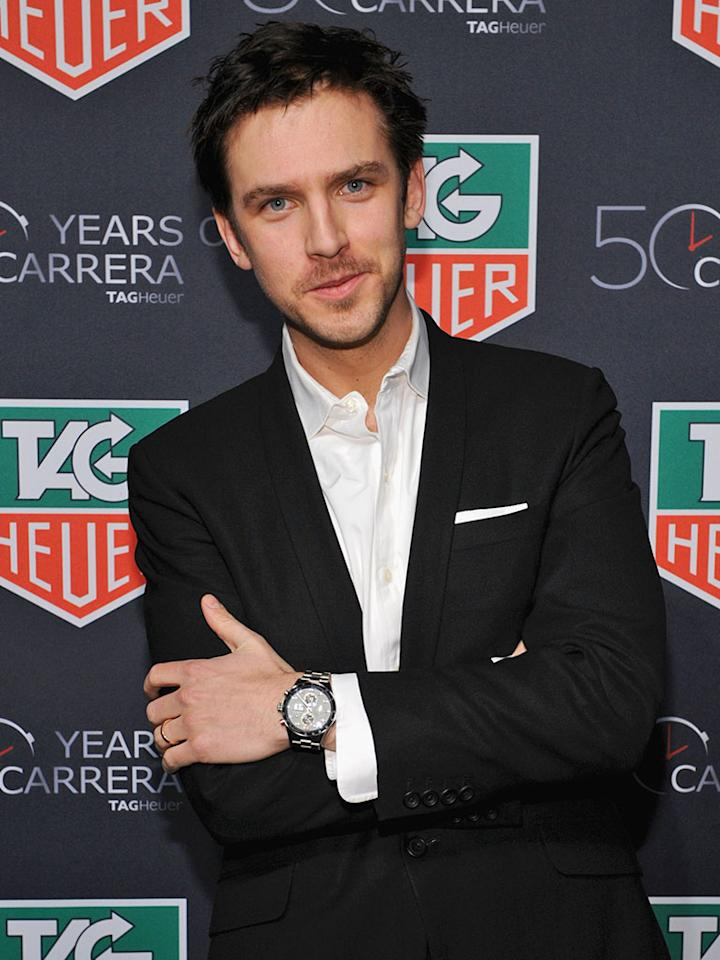 """""""Downton Abbey"""" star Dan Stevens is a guest of Thomson Reuters."""