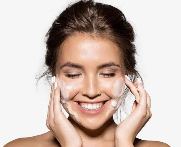 Switch to soap-free cleanser