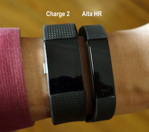 how to know if fitbit alta hr is charging