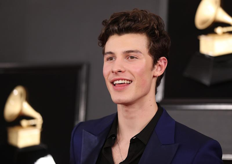 61st Grammy Awards - Arrivals - Los Angeles, California, U.S., February 10, 2019 - Shawn Mendes. REUTERS/Lucy Nicholson
