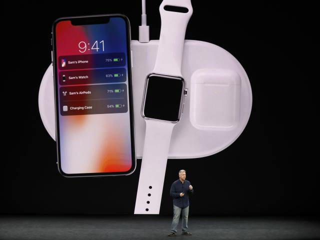 <p>The iPhone X will also make use of AirPower, Apple's wireless charging technology. One AirPower pad will charge your iPhone, Apple Watch and EarPods at the same time. REUTERS/Stephen Lam </p>