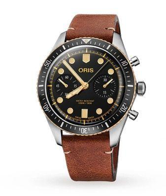 "<p>Divers Sixty-Five Chronograph</p><p><a class=""link rapid-noclick-resp"" href=""https://go.redirectingat.com?id=127X1599956&url=https%3A%2F%2Fwww.goldsmiths.co.uk%2FOris-Divers-Sixty%2BFive-Chronograph%2Fp%2F17600986%2F&sref=https%3A%2F%2Fwww.esquire.com%2Fuk%2Fwatches%2Fg25973970%2Fbest-mens-watches%2F"" rel=""nofollow noopener"" target=""_blank"" data-ylk=""slk:SHOP"">SHOP</a><br>Based on the design of the very first diver's watch that Oris created in 1965, this chronograph version has been updated to 2020 specs, and now features a robust stainless steel case, a sapphire crystal and a hugely reliable automatic Swiss-made mechanical movement. The bronze bezel edge and rose gold-plated dial details add to the watch's stylish retro look. Regular readers of Esquire and our annual The Big Watch Book will know we're of the opinion Oris has seldom put a foot wrong of late.</p><p>£3,100;<a href=""https://www.oris.ch/en/?gclid=Cj0KCQiAz53vBRCpARIsAPPsz8WWJUppl-Mn5SdQSHCnF-Rld0Wc-pjV0f2cZOYdYx4kEOiTfU2vUG8aAqZ6EALw_wcB"" rel=""nofollow noopener"" target=""_blank"" data-ylk=""slk:oris.ch"" class=""link rapid-noclick-resp""> oris.ch</a><br></p>"