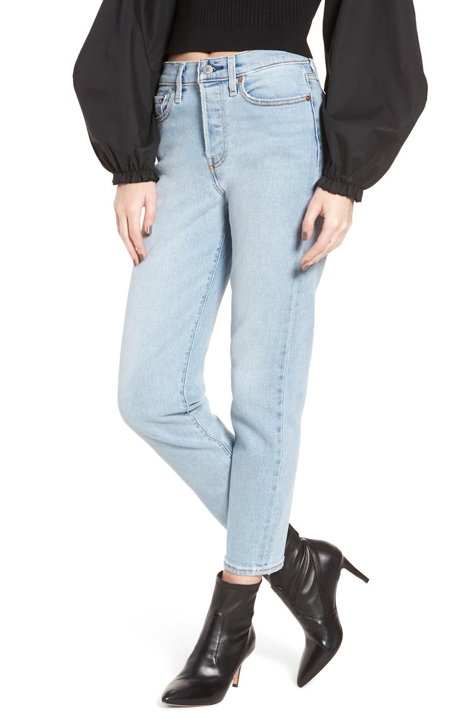"""<strong><h3><a href=""""https://shop.nordstrom.com/s/levis-wedgie-icon-fit-high-waist-crop-jeans-bauhaus-blues/4838364/full?origin=coordinating-4838364-0-1-PDP_1.PDP_1_DEFAULT-recbot-also_viewed&recs_placement=PDP_1.PDP_1_DEFAULT&recs_strategy=also_viewed&recs_source=recbot&recs_page_type=product&recs_seed=5279188"""" rel=""""nofollow noopener"""" target=""""_blank"""" data-ylk=""""slk:Levi's Wedgie Jeans"""" class=""""link rapid-noclick-resp"""">Levi's Wedgie Jeans</a></h3></strong><a href=""""https://www.instagram.com/patsyadaum/https://www.instagram.com/patsyadaum/"""" rel=""""nofollow noopener"""" target=""""_blank"""" data-ylk=""""slk:Patsy Daum, 16"""" class=""""link rapid-noclick-resp""""><strong>Patsy Daum, 16</strong></a><br>Although all pairs of denim may look similar from afar, they all have distinct features that make them stand out. I think we can all agree with the idea that searching for the perfect jeans is a struggle, as the definition of perfect means something different for everyone. For me, <a href=""""https://shop.nordstrom.com/s/levis-wedgie-icon-fit-high-waist-crop-jeans-bauhaus-blues/4838364/full?origin=coordinating-4838364-0-1-PDP_1.PDP_1_DEFAULT-recbot-also_viewed&recs_placement=PDP_1.PDP_1_DEFAULT&recs_strategy=also_viewed&recs_source=recbot&recs_page_type=product&recs_seed=5279188"""" rel=""""nofollow noopener"""" target=""""_blank"""" data-ylk=""""slk:this pair"""" class=""""link rapid-noclick-resp"""">this pair</a> is exactly what I am looking for. I love the light wash of the material and the fact they are high waisted is what really makes me love them so much. There is nothing quite like the satisfaction of finding the perfect jeans since denim is such a closet staple. <br><br><strong>Levi's</strong> Wedgie Icon Fit High Waist Crop Jeans, $, available at <a href=""""https://shop.nordstrom.com/s/levis-wedgie-icon-fit-high-waist-crop-jeans-bauhaus-blues/4838364/full?origin=coordinating-4838364-0-1-PDP_1.PDP_1_DEFAULT-recbot-also_viewed&recs_placement=PDP_1.PDP_1_DEFAULT&recs_strategy=also_viewed&recs_source=recbot&recs_page_typ"""