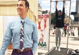 Watch Akshay Kumar make some quick money on vacation