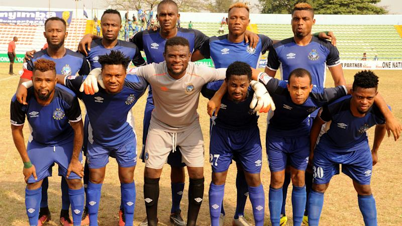 Udoh hails Enyimba's fighting spirit for Lobi Stars victory