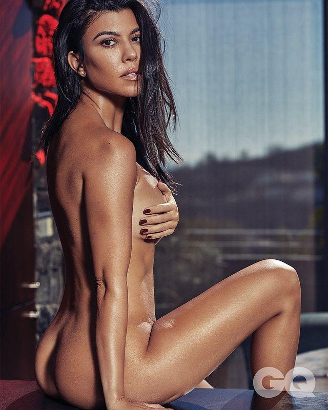"""<p>Kourt threw every stitch of clothing to the wind while posing nude for <em>GQ Mexico</em> (seemingly in some swanky AF L.A. penthouse with a serious view). The photo series features her in a wedgie-defying t<a href=""""https://www.instagram.com/p/Bqpua8zHqC0/"""" rel=""""nofollow noopener"""" target=""""_blank"""" data-ylk=""""slk:hong/tank top onesie"""" class=""""link rapid-noclick-resp"""">hong/tank top onesie</a> and a turtleneck with her <a href=""""https://www.instagram.com/p/Bqp02bmnbvU/"""" rel=""""nofollow noopener"""" target=""""_blank"""" data-ylk=""""slk:bare butt to camera."""" class=""""link rapid-noclick-resp"""">bare butt to camera.</a></p><p><a href=""""https://www.instagram.com/p/BqsWNohnd9m/?utm_source=ig_embed&utm_medium=loading"""" rel=""""nofollow noopener"""" target=""""_blank"""" data-ylk=""""slk:See the original post on Instagram"""" class=""""link rapid-noclick-resp"""">See the original post on Instagram</a></p>"""