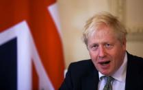 FILE PHOTO: Britain's Prime Minister Boris Johnson meets with his Iraq's counterpart Mustafa Al-Kadhimi, in London