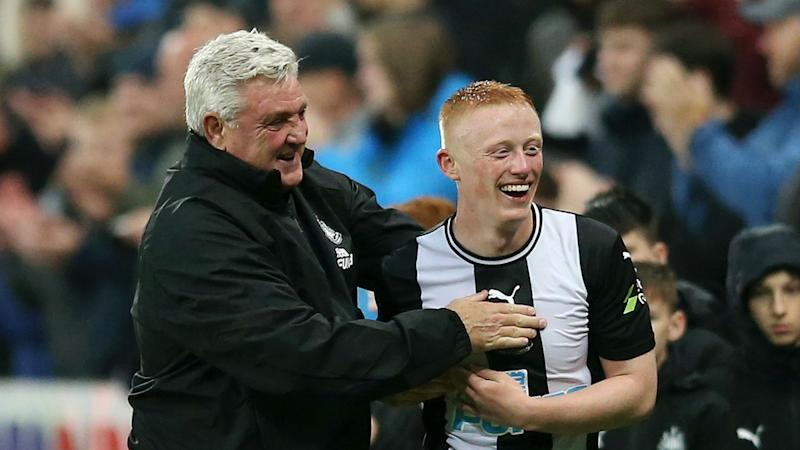 Matty Longstaff signs new deal to stay with Newcastle