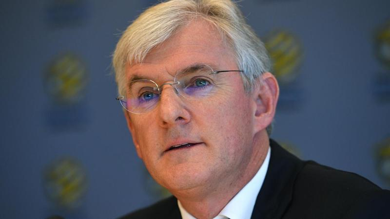 Steven Lowy succeeded his father Frank as FFA chairman in November 2015.