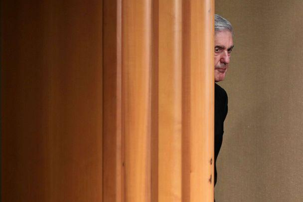PHOTO: Special counsel Robert Mueller arrives to make a statement about the Russia investigation, May 29, 2019, at the Justice Department in Washington, D.C. (Chip Somodevilla/Getty Images)