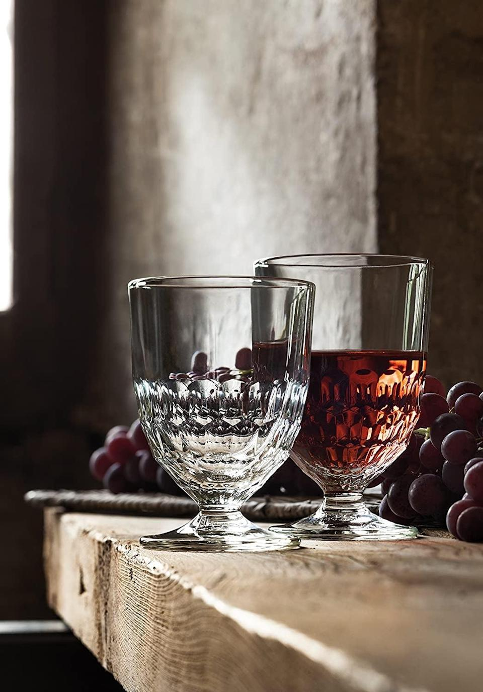 <p>You'll find yourself leaving these <span>La Rochere Artois Water Glasses (Set Of 6)</span> ($59, originally $61) on display.</p>